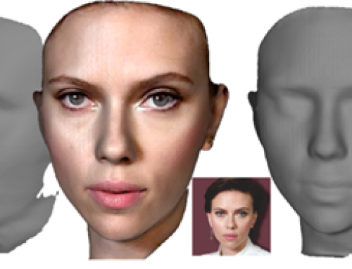 3D Face Model Accurately Reconstructed from a Photo