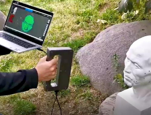 Use Case – Scanning Objects with Handysense Outdoors